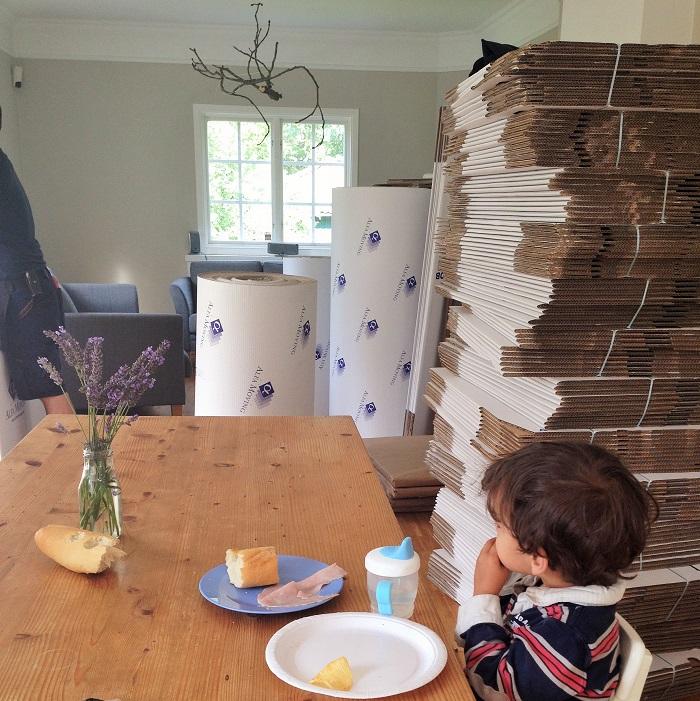 lavender table